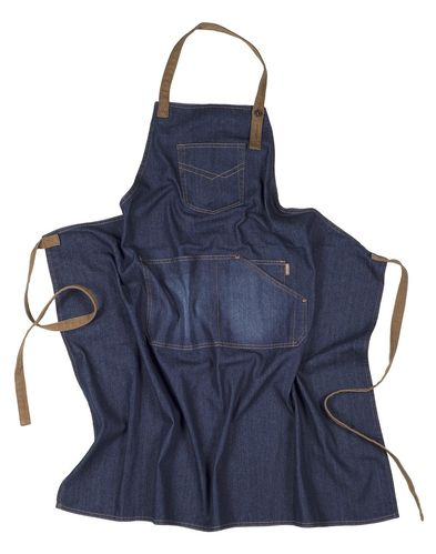 Delantal con Peto Denim